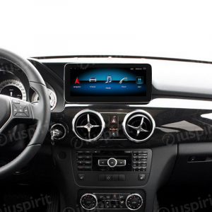 ANDROID monitor 10.25 navigatore per Mercedes Classe GLK X204 GLK220 GLK280 GLK300 GLK350 2013-2015 NTG 4.5 GPS WI-FI Bluetooth MirrorLink 4GB RAM 64GB ROM Octa-Core 4G LTE