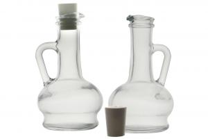 Set 2 Oliere in vetro cl 26 cm.17h