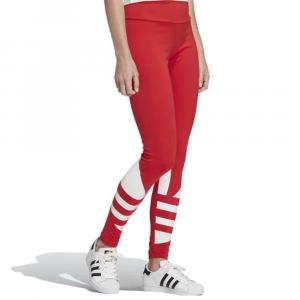 Adidas Leggins Logo Red da Donna