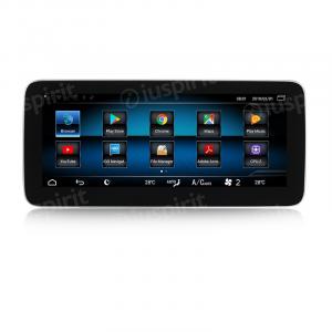 ANDROID monitor 10.25 navigatore per Mercedes Classe CLS W218 CLS350 CLS400 CLS500 2013 NTG 4.5 GPS WI-FI Bluetooth MirrorLink 4GB RAM 64GB ROM Octa-Core 4G LTE