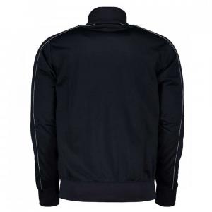 Champion Tuta Intera Full Zip Logo Black da Uomo