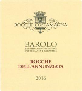 BAROLO DOCG ROCCHE DELL'ANNUNZIATA 2016