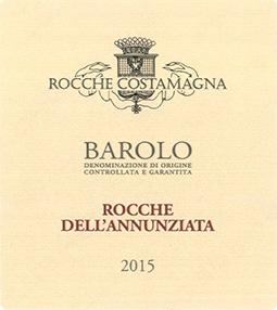 BAROLO DOCG ROCCHE DELL'ANNUNZIATA 2015