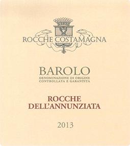 BAROLO DOCG ROCCHE DELL'ANNUNZIATA 2013