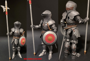 Mythic Legions - Arethyr: RED SHIELD SOLDIER