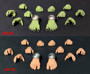 Mythic Legions - Arethyr: HANDS & FEET by Four Horsemen Studios