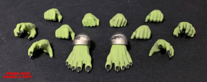 Mythic Legions - Arethyr: HANDS & FEET
