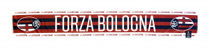 Bologna Fc SCIARPA IN RASO FORZA BOLOGNA