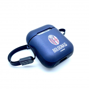 Bologna Fc COVER AIRPODS CASE BLU