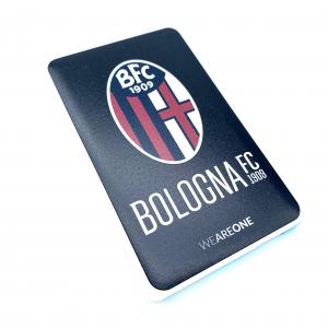 Bologna Fc POWER BANK SLIM LOGO UFFICIALE NERO