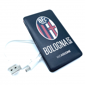 Bologna Fc POWER BANK IN PELLE NERO