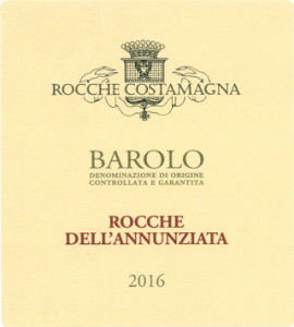 BAROLO DOCG ROCCHE DELL'ANNUNZIATA 2016 MAGNUM