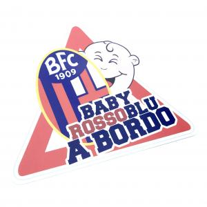 Bologna Fc ADESIVO BABY A BORDO