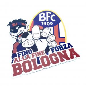 Bologna Fc ADESIVO FINO ALLA FINE FORZA BOLOGNA