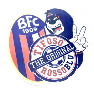 Bologna Fc ADESIVO TIFOSO ROSSOBLÙ
