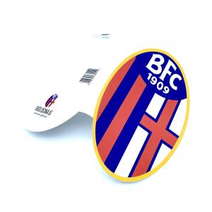 Bologna Fc BIGLIETTO AUGURI LOGO UFFICIALE