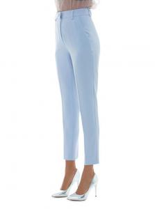 Pantalone Les Bourdelles des Garçon vita alta slim in tessuto tecnico P87