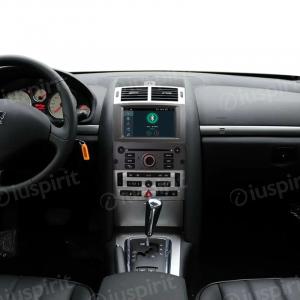 ANDROID autoradio navigatore per Peugeot 407 2004-2010 GPS DVD USB SD WI-FI Bluetooth Mirrorlink