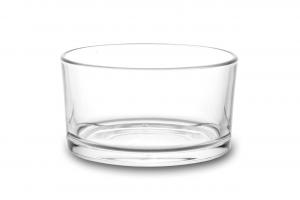 Coppetta in vetro per formaggera cm.5h diam.9