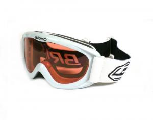 BRIKO VINTAGE Maschera sci discesa snowboard junior SPUNKY bianco 015584