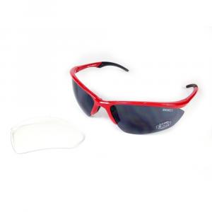 X3 BY BRIKO Occhiali sportivi da sole unisex GIRAVARU rosso nero 034035X