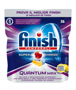 FINISH Quantum 36 Lemon  Detersivi Lavastoviglie