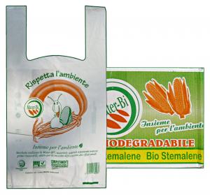 Shoppers biodeg/compost.bianca 32x60 * 500 pz.  - Borse spesa