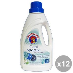 CHANTE CLAIR Set  12 Bucato Capi Sportivi-Sintetici 900 Ml. Detergenti Casa