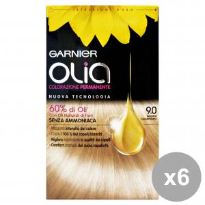 Set 6 OLIA 9.0 Biondo ChiariSS.Senza Ammoniaca Prodotti per capelli