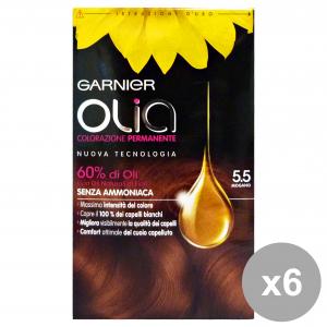 Set 6 OLIA 5.5 MogaNo Senza Ammoniaca Prodotti per capelli