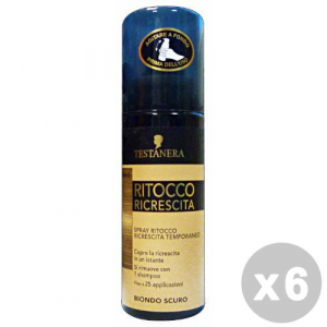 TESTANERA Set 6 TESTANERA Ritocco ricrescita spray biondo scuro 120 ml.