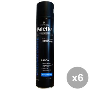 Set 6 PALETTE Lacca Volume Extra Forte 300 Ml. Prodotti per capelli