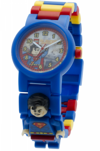 LEGO?« Orologio da polso Bambino DC SUPER HEROES SUPERMAN MINIFIGURE LINK WATCH