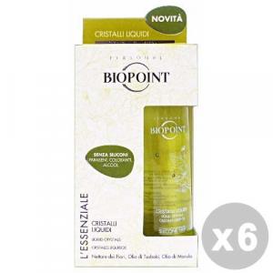 BIOPOINT Set 6 BIOPOINT Cristalli liquidi l'essenziale 50 ml. - balsamo capelli