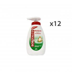 BOROTALCO Set 12 Sapone Liquido Nutriente 250 Ml Saponi E Cosmetici