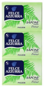 FELCE AZZURRA Saponette fresco * 3 pz. 125 gr.  - Saponetta