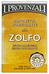 I PROVENZALI Saponetta Zolfo 100 Gr. Saponi e cosmetici