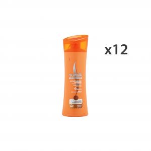 SUNSILK Set  12 Shampoo Ricostruzione Intensa Arancio 250 Ml.  Prodotti Per Capelli