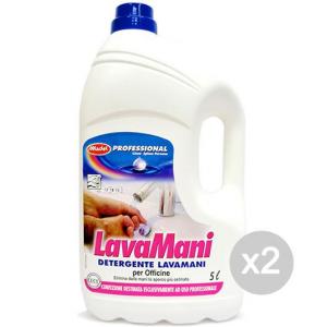 Set 2 MADEL Lavamani Liquido Lt.5 Officin Cura E Pulizia Del Corpo