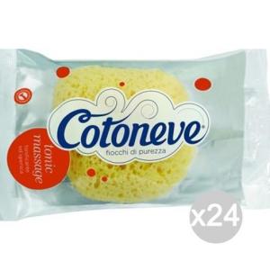 Set 24 COTONEVE Spugna Bagno Soft Tipo Mare Cura E Pulizia Del Corpo