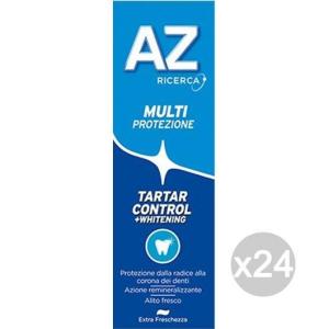 Set 24 AZ Dentifricio Tartar Control Whitetening Classic Igiene E Cura Dei Denti