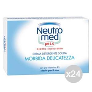 Set 24 NEUTROMED Sapone X 1 Neutro Cura E Pulizia Del Corpo