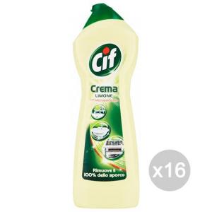 Set 16 CIF Crema 500 Limone Detersivi E Pulizia Della Casa