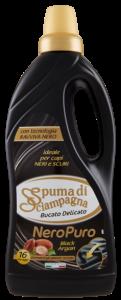 Set 12 SPUMA DI SCIAMPAGNA Spuma Sciamp L.1 Nero Black Rose Argan Detersivo Lavatrice E Bucato