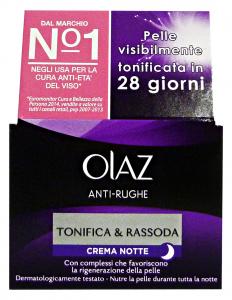 OLAZ Anti-rughe tonifica/rassoda notte 50 ml. - Creme viso e maschere