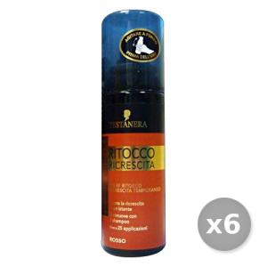 TESTANERA Set 6 TESTANERA Ritocco Ricrescita Spray Rosso 120 ml - Coloranti Capelli
