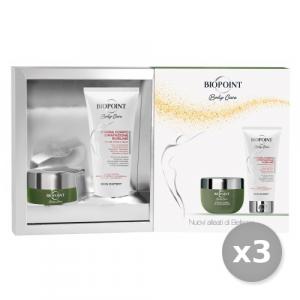 BIOPOINT Set 3 BIOPOINT Confezione Regalo Rituale Detox Scrub + Crema Corpo Sublime