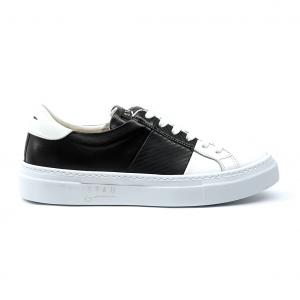 Sneaker bianca/nera bicolore Stau