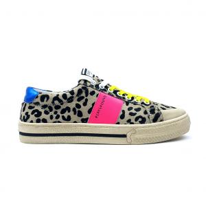 Sneaker leopardata/multicolor Moa