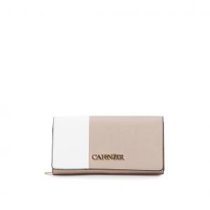 Portafoglio bicolor rosa/bianco CAFéNOIR